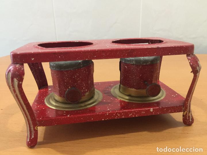 Juguetes antiguos de hojalata: COCINA PICÓ ANTES SANJUAN Y CIA AÑOS 40 - Foto 7 - 86116828