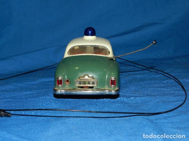 Juguetes antiguos de hojalata: COCHE MARCA SCHUCO ELECTRO ALARM-CAR 5354 , MADE IN WESTERN GERMANY ,21 X 9 CM - Foto 5 - 86290320