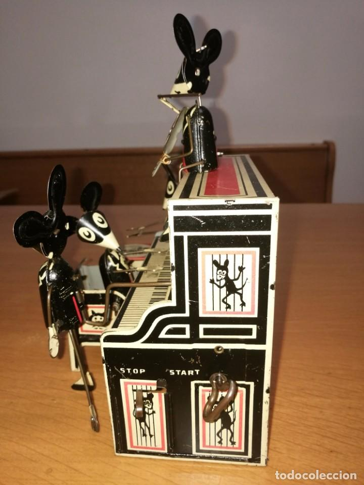 Juguetes antiguos de hojalata: FANTASTICA PIEZA MERRY MAKERS BAND DE LOUIS MARX. 1929 - Foto 3 - 89724276