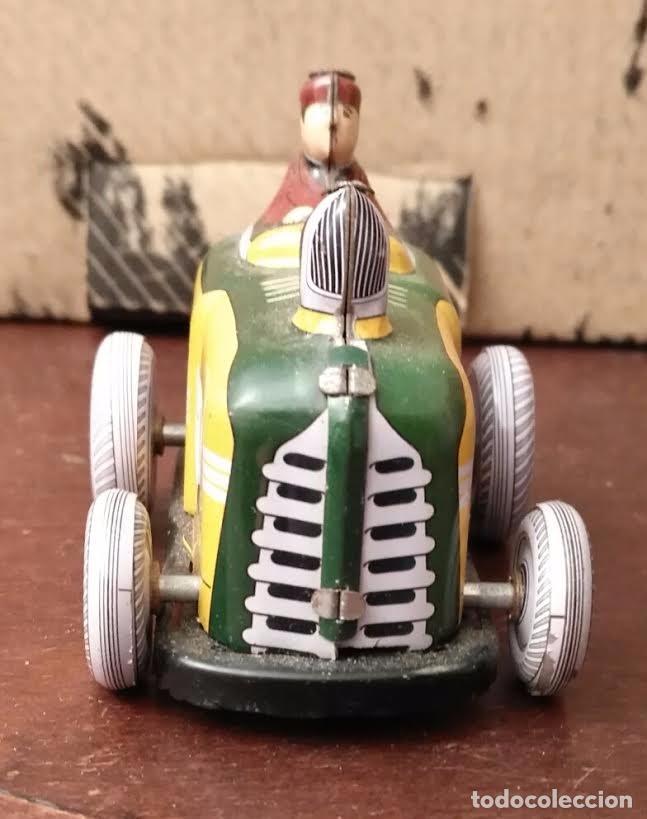 Juguetes antiguos de hojalata: Juguete hojalata Tractor a cuerda - Nuevo - Foto 3 - 90047144