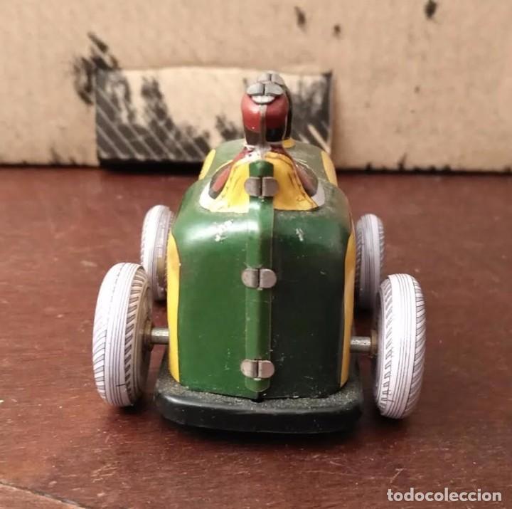 Juguetes antiguos de hojalata: Juguete hojalata Tractor a cuerda - Nuevo - Foto 4 - 90047144
