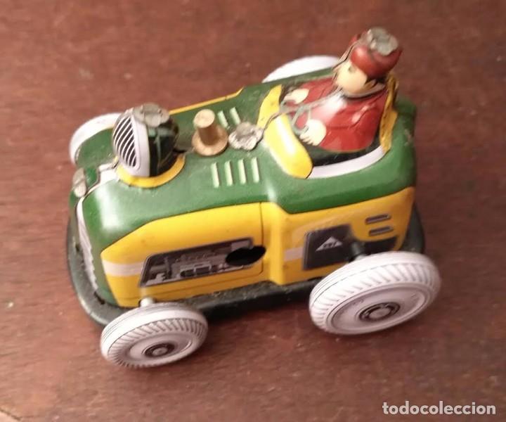 Juguetes antiguos de hojalata: Juguete hojalata Tractor a cuerda - Nuevo - Foto 5 - 90047144