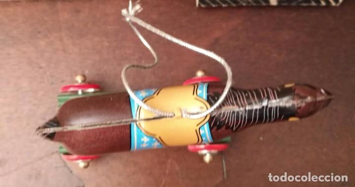 Juguetes antiguos de hojalata: Juguete hojalata - ST.JOHN TIN TOY COLLECTION SERIES - Caballo - Nuevo - - Foto 5 - 90049300