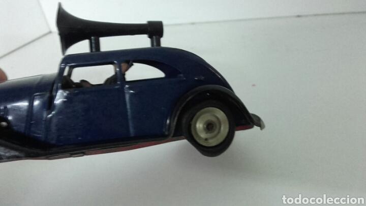 Juguetes antiguos de hojalata: ANTIGUO coche megafono tri-ang MINIC TOYS DE HOJALATA - Foto 7 - 222698525