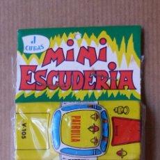 Juguetes antiguos de hojalata: MINI ESCUDERIA DE J.CUBAS - 6 COCHES DE HOJALATA - SIN ABRIR. Lote 87352935