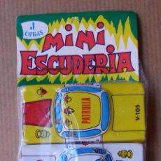 Juguetes antiguos de hojalata: MINI ESCUDERIA DE J.CUBAS - 6 COCHES DE HOJALATA - SIN ABRIR. Lote 87787780