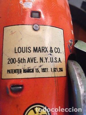 Juguetes antiguos de hojalata: ANTIGUA NAVE ESPACIAL HOJALATA AÑOS 20 Original Louis Marx & Co Buck Rogers cohete SIMIL PAYA 899,00 - Foto 8 - 139121089