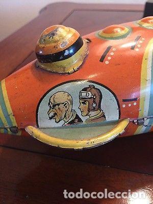 Juguetes antiguos de hojalata: ANTIGUA NAVE ESPACIAL HOJALATA AÑOS 20 Original Louis Marx & Co Buck Rogers cohete SIMIL PAYA 899,00 - Foto 9 - 139121089