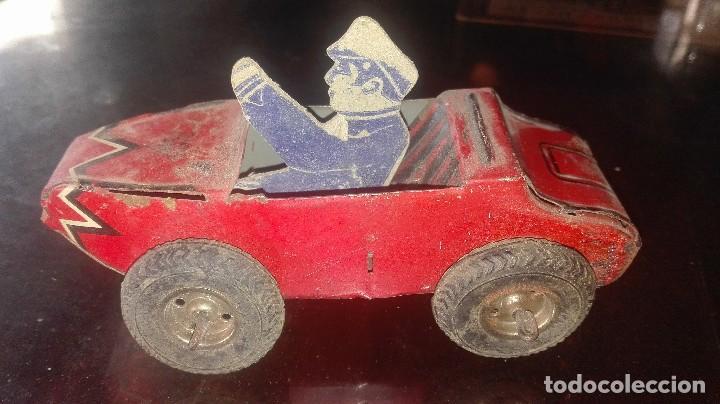 Juguetes antiguos de hojalata: coche hojalata.SFA PARIS.años 30-40 - Foto 2 - 92843800
