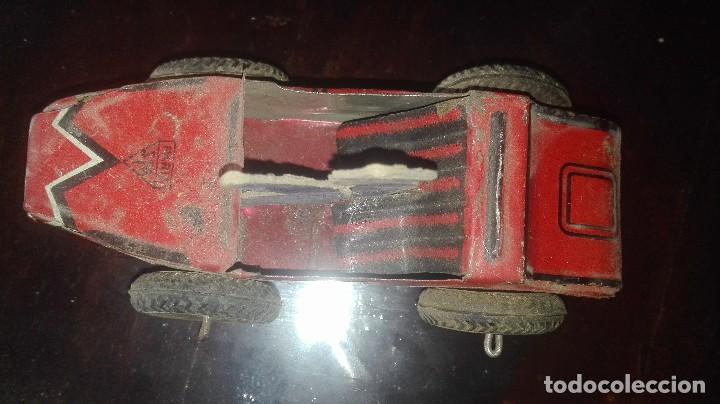 Juguetes antiguos de hojalata: coche hojalata.SFA PARIS.años 30-40 - Foto 3 - 92843800