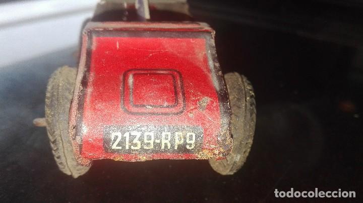 Juguetes antiguos de hojalata: coche hojalata.SFA PARIS.años 30-40 - Foto 4 - 92843800