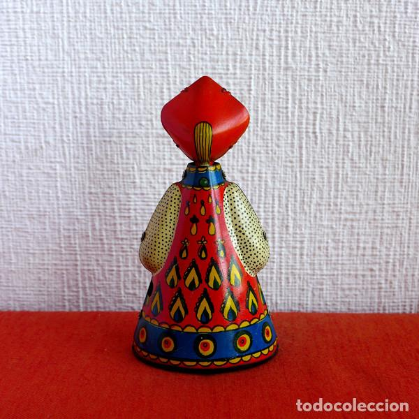 Juguetes antiguos de hojalata: Bailarina rusa de cuerda - Foto 3 - 93932205