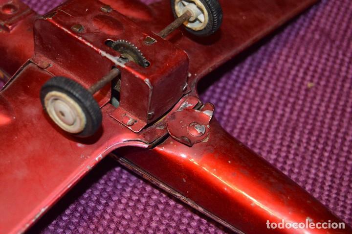 Juguetes antiguos de hojalata: INGAP SUPER CONSTELLATION - MADE IN ITALY - ROJO CON LIBREA DE SABENA - MIRA LAS FOTOS - VINTAGE - Foto 20 - 94890731