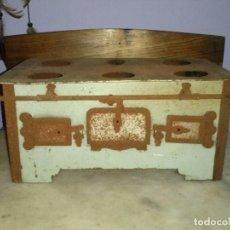 Juguetes antiguos de hojalata: ANTIGUA COCINA HOJALATA JUGUETE PARA RESTAURAR . Lote 95850735