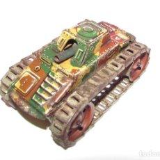 Juguetes antiguos de hojalata: TANK ARNOLD - TANQUE ARNOLD 588 A - HOJALATA ANTIGUO CON CUERDA. Lote 96673291