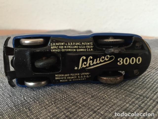 Juguetes antiguos de hojalata: Coche Schuco 3000 - Foto 3 - 99104855