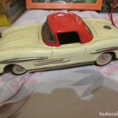 Juguetes antiguos de hojalata: COCHE MERCEDES MADE IN JAPAN HOJALATA. Lote 99177807