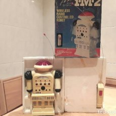 Juguetes antiguos de hojalata: ROBOT STAR COMMAND IM2,RADIO CONTROL BY CAPRICE, USA, HONG KONG, 77. Lote 100096515