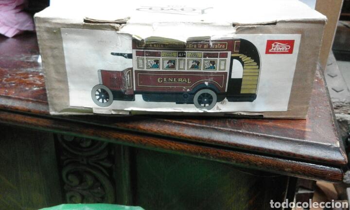 Juguetes antiguos de hojalata: juguete de lata caja original - Foto 4 - 103037963