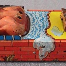 Altes Blechspielzeug - HUCHA DE HOJALATA HIPPO BANCO - 103285963