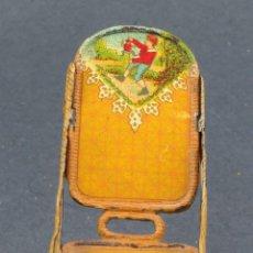 Juguetes antiguos de hojalata: MECEDORA JYESA HOJALATA LITOGRAFIADA AÑOS 30. Lote 104600247