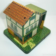 Juguetes antiguos de hojalata: ANTIGUA CASA DE HOJALATA MADE IN JAPAN. Lote 104677011