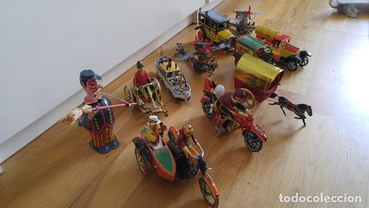 Juguetes antiguos de hojalata: Lote 25 juguetes lata - Foto 4 - 104742299