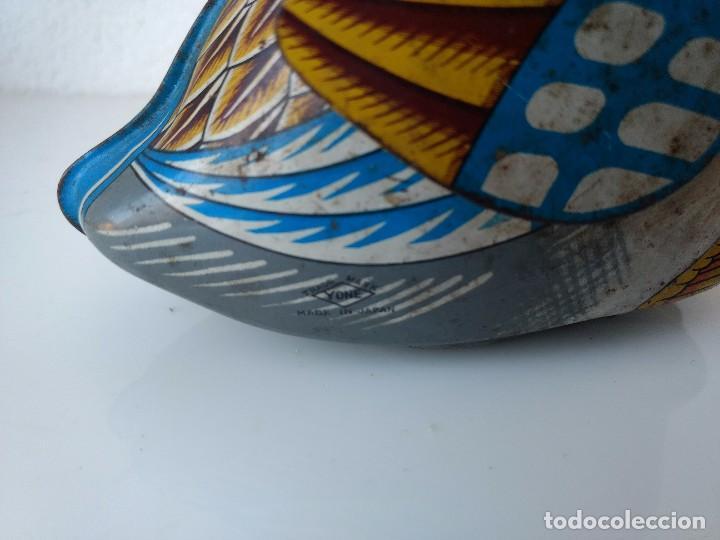 Juguetes antiguos de hojalata: Pato de hojalata YONE MADE IN JAPAN - Foto 5 - 105109195