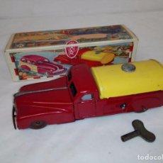 Altes Blechspielzeug - Tanque gasolina de Rico con caja original. Años 40/50 - 105283955