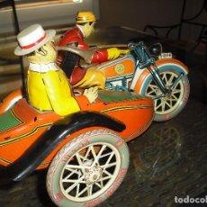 Juguetes antiguos de hojalata: MOTO TUF-TUF REPRO AÑOS 80 EN SU CAJA Y DOCUMENTACIÒN- PERFECTA200. Lote 107733639