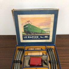 Juguetes antiguos de hojalata: TREN ESCALA 0, LE RAPIDE L.R.. Lote 107796375