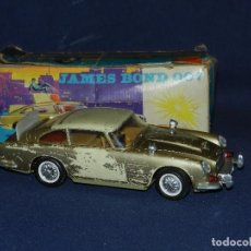 Juguetes antiguos de hojalata: (M) ASTON MARTIN DB5 JAMES BOND 007MARCA GAMA , MADE IN WESTERN GERMANY 26X8'5 CM. Lote 109282755