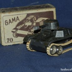 Juguetes antiguos de hojalata: (M) TANQUE MILITAR GAMA 70 GAMA TANK , MADE IN US ZONE GERMANY , TANQUE DE HOJALATE . Lote 109284863