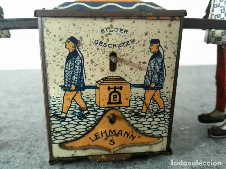Juguetes antiguos de hojalata: CHINOS KADI DE LEHMANN 1917 MODELO EPL 723 FUNCIONANDO - Foto 4 - 109576731