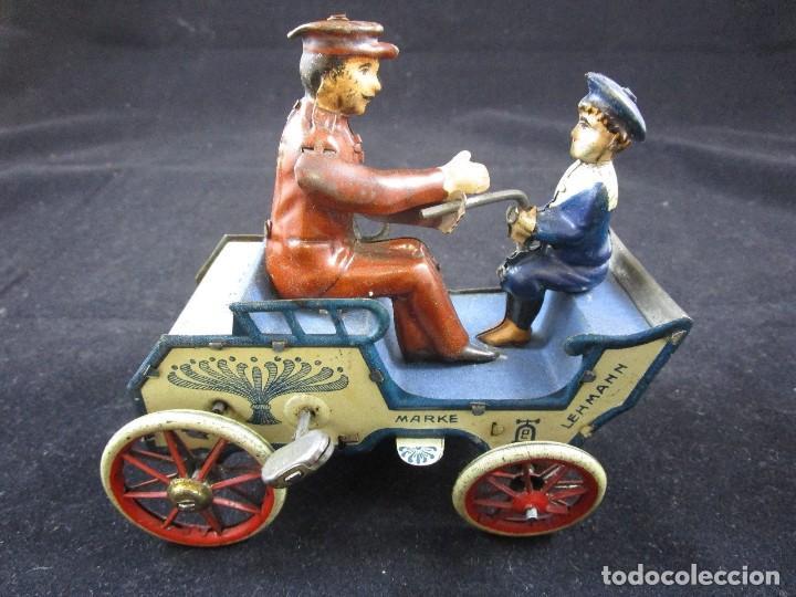 LEHMANN NAUGHTY BOY 1920 FUNCIONANDO (Juguetes - Juguetes Antiguos de Hojalata Extranjeros)