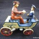 Juguetes antiguos de hojalata: LEHMANN NAUGHTY BOY 1920 FUNCIONANDO. Lote 109581251