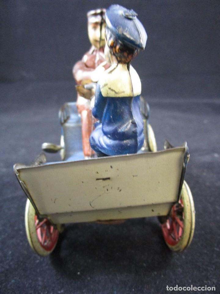Juguetes antiguos de hojalata: LEHMANN NAUGHTY BOY 1920 FUNCIONANDO - Foto 4 - 109581251