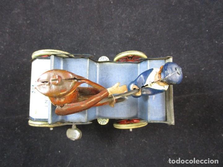 Juguetes antiguos de hojalata: LEHMANN NAUGHTY BOY 1920 FUNCIONANDO - Foto 8 - 109581251