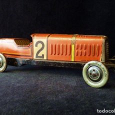 Altes Blechspielzeug: COCHE BUGATTI Y-926(2) HERMANOS PAYÁ. IBI, 1932. HOJALATA 36 CM. COMPLETAMENTE ORIGINAL. Lote 111668931
