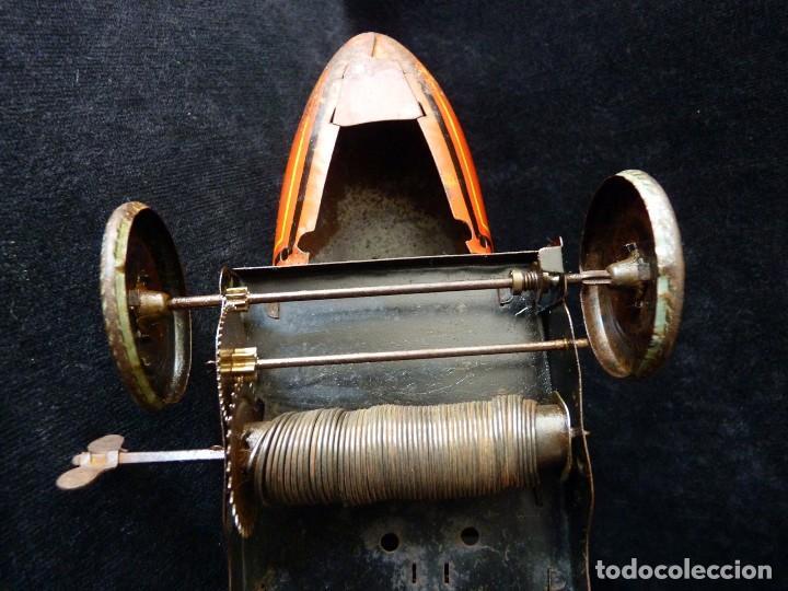 Juguetes antiguos de hojalata: COCHE BUGATTI Y-926(2) HERMANOS PAYÁ. IBI, 1932. HOJALATA 36 cm. COMPLETAMENTE ORIGINAL - Foto 16 - 111668931
