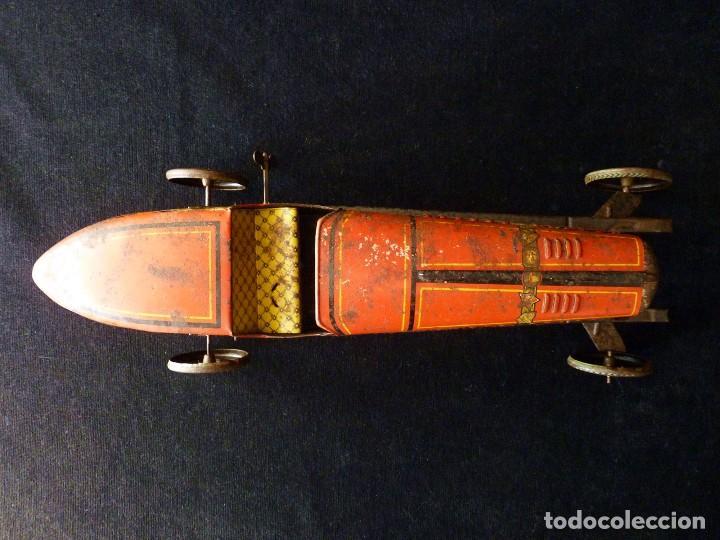 Juguetes antiguos de hojalata: COCHE BUGATTI Y-926(2) HERMANOS PAYÁ. IBI, 1932. HOJALATA 36 cm. COMPLETAMENTE ORIGINAL - Foto 21 - 111668931