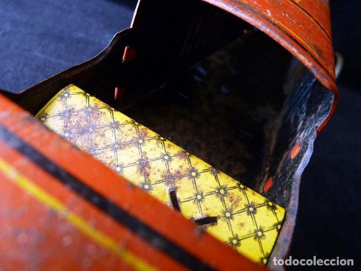 Juguetes antiguos de hojalata: COCHE BUGATTI Y-926(2) HERMANOS PAYÁ. IBI, 1932. HOJALATA 36 cm. COMPLETAMENTE ORIGINAL - Foto 26 - 111668931