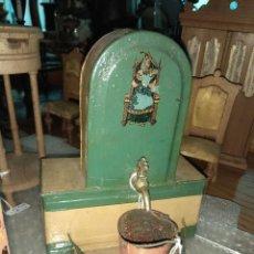 Juguetes antiguos de hojalata: PRECIOSA FUENTE DE HOJALATA. Lote 111811007