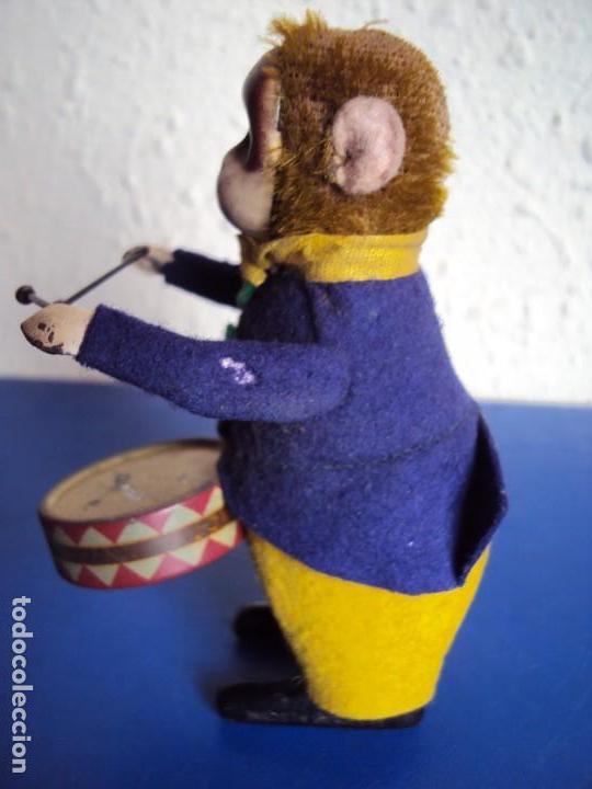 Juguetes antiguos de hojalata: (JU-180200)MONO A CUERDA FUNCIONANDO SCHUCO MADE IN GERMANY - Foto 5 - 113144751
