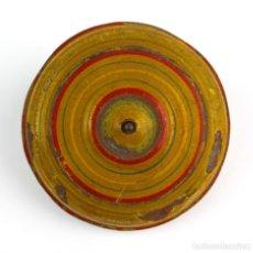 Juguetes antiguos de hojalata: PEONZA DE FABRICACION ALEMANA PRINCIPIOS DEL SIGLO XX. Lote 113568603