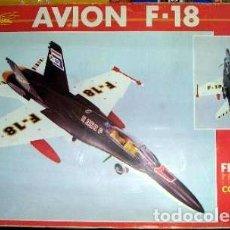 Juguetes antiguos de hojalata: AVION SANCHIS F-18 - F18. Lote 113835615
