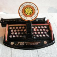 Juguetes antiguos de hojalata: MÁQUINA DE ESCRIBIR DIAL TYPEWRITER JUNIOR. AÑOS 60`S. Lote 115449447