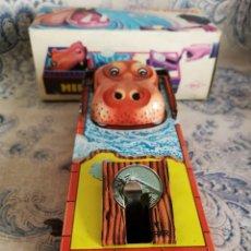 Altes Blechspielzeug - HUCHA HIPOBANCO de Hojalata de HEDI, con su caja. - 117045111