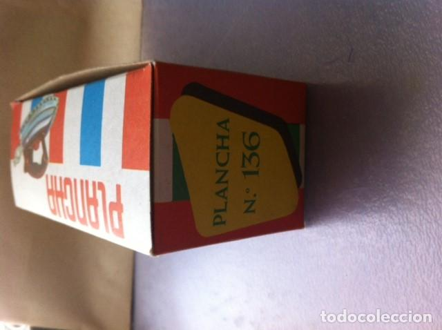 Juguetes antiguos de hojalata: Antigua Plancha Juguete en su caja original. - Foto 6 - 117292831