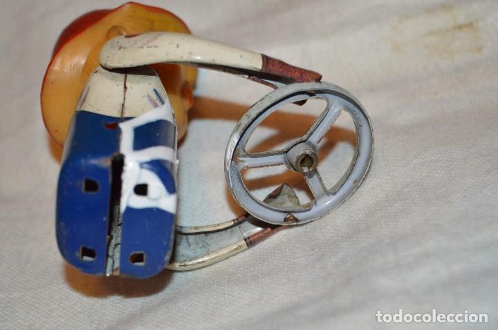 Juguetes antiguos de hojalata: ANTIGUO - FIRE CHIEF CAR - MODERN TOYS JAPAN - MT JAPAN - MASUDAYA TIN VINTAGE - BATTERY OPERATED - Foto 14 - 118301223
